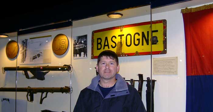 At the Bastogne Historical Center.